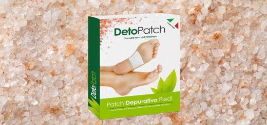 deto patch cerotto plantare depurativo