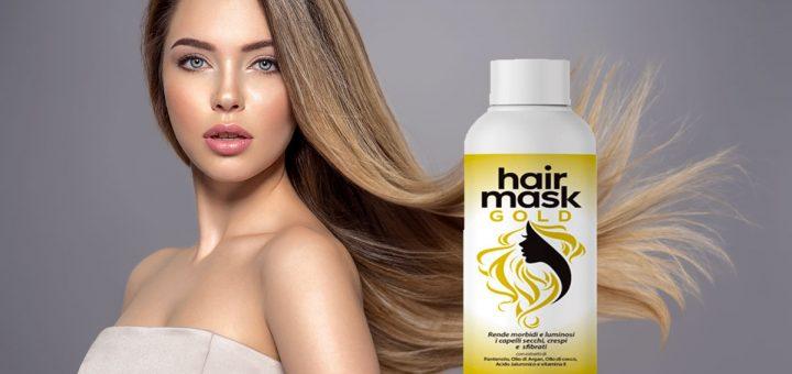 hair mask gold crema per capelli